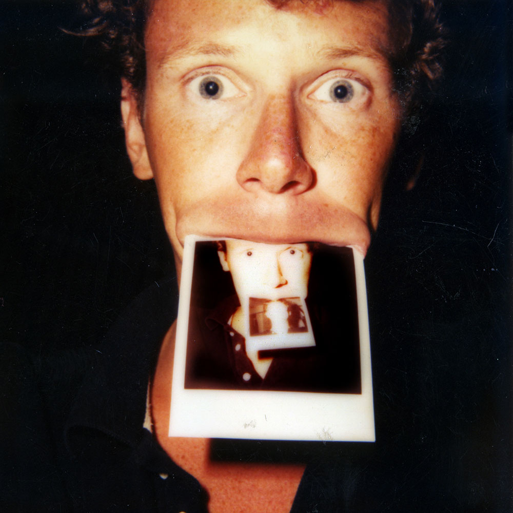 Peter Duke 1983 Recursive SX70 Self Portrait ©2013 All Rights Reserved