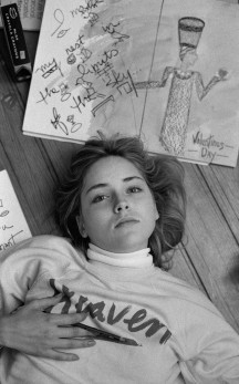 Young Sharon Stone - © 2013 Peter Duke - All Rights Reserved
