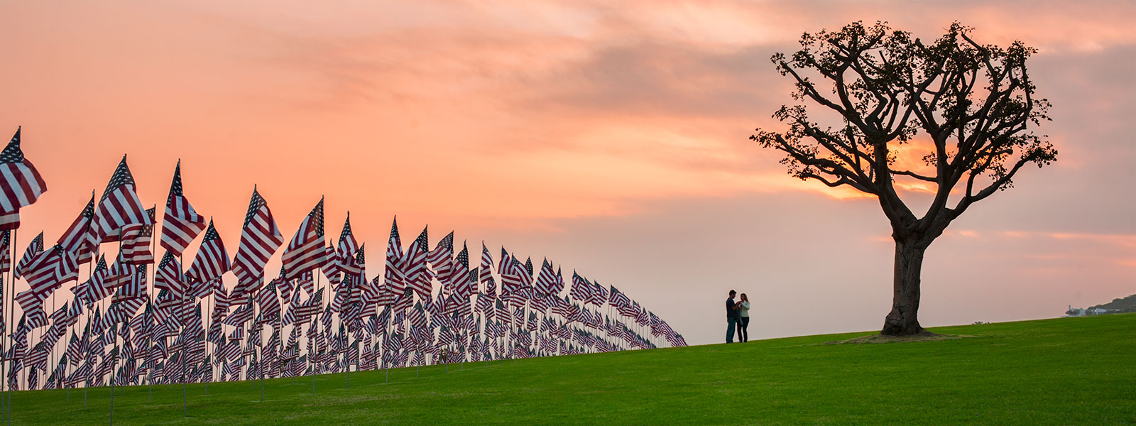 9/11 Memorial at Pepperdine University